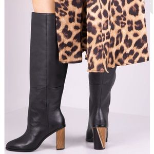 Ted Baker | Dolarel Leather Knee High Boots